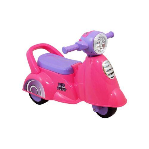 Gyerek zenélős jármű Baby Mix Scooter rózsaszín