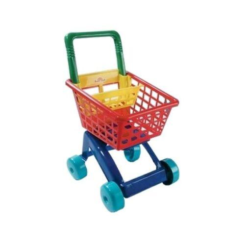 Gyerek bevásárlókosár piros