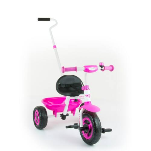 Gyerek háromkerekű bicikli Milly Mally Boby TURBO pink