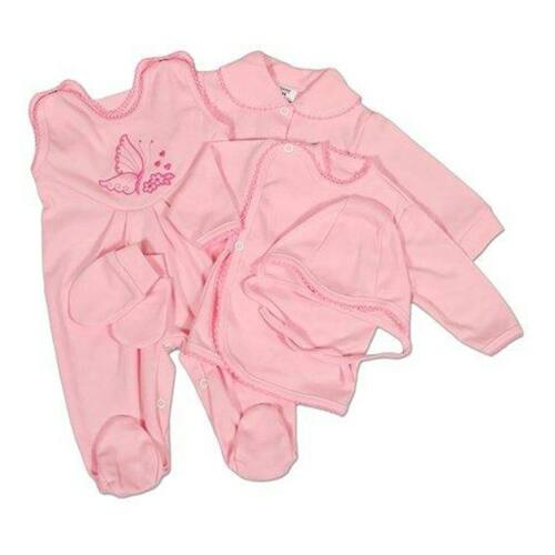 5-részes együttes New Baby rózsaszín