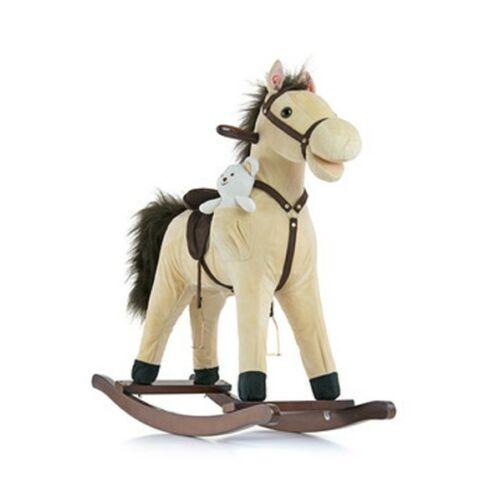 Hintaló dallammal Milly Mally Mustang bézs
