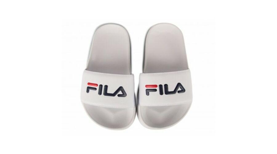 90835b8eb8 Férfi cipők-Fila női papucs, Fehér