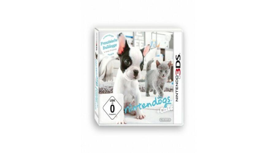 Nintendo 3ds-Nintendogs + cats  Francia Bulldog 488db8fd59